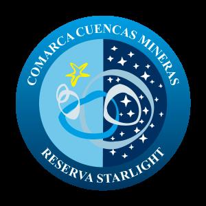 Logo Reserva Starlight Comarca Cuencas Mineras