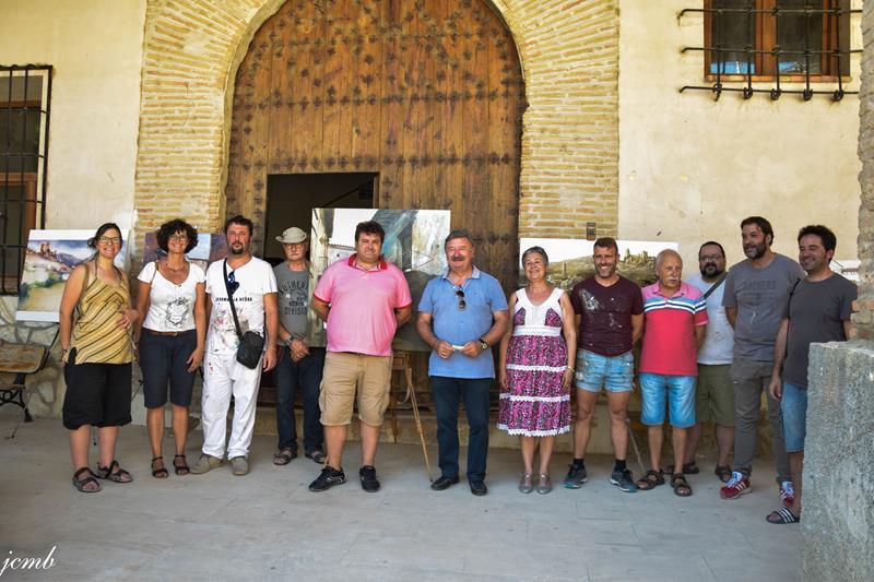 Concurso Pintura Rápida celebrado en Huesa del Común
